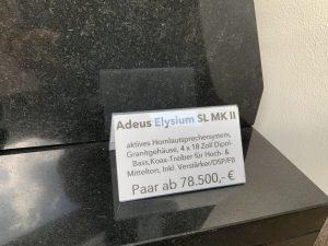 Adeus Elysium SL MKII