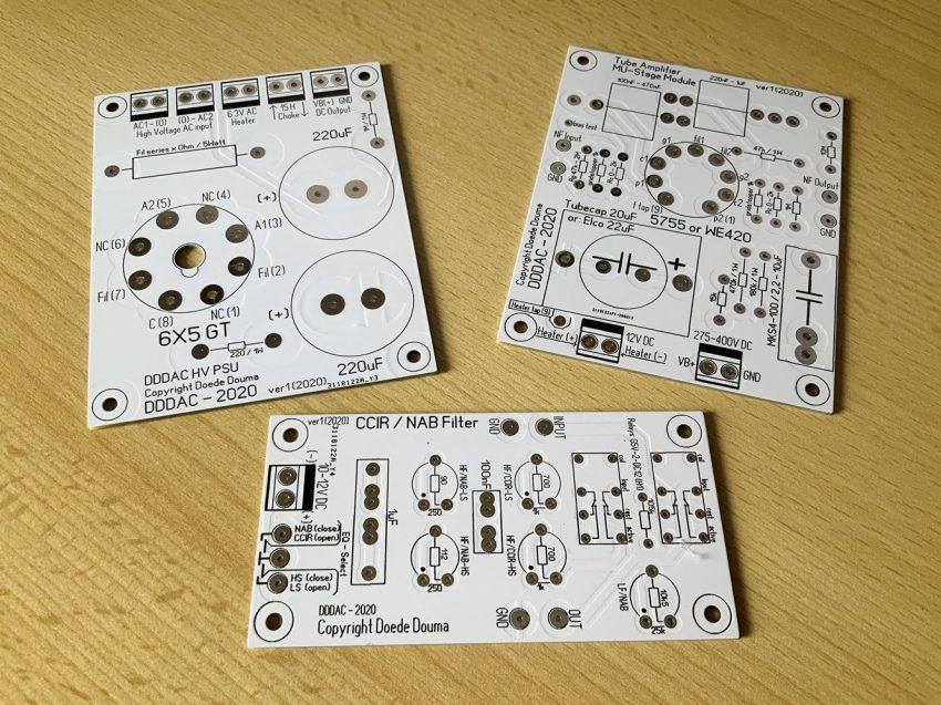 PCBs MU-Stage CCIR NAB Filter - HV PSU-b